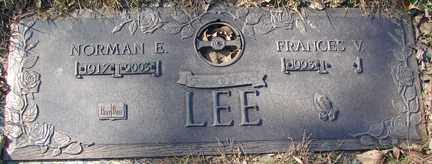 LEE, FRANCES V. - Minnehaha County, South Dakota   FRANCES V. LEE - South Dakota Gravestone Photos