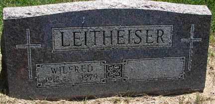 LEITHEISER, WILFRED - Minnehaha County, South Dakota | WILFRED LEITHEISER - South Dakota Gravestone Photos