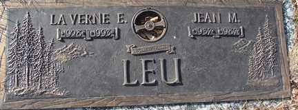 LEU, JEAN M. - Minnehaha County, South Dakota | JEAN M. LEU - South Dakota Gravestone Photos