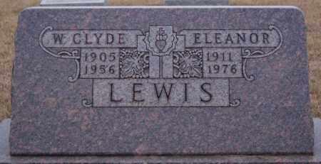 LEWIS, ELEANOR - Minnehaha County, South Dakota | ELEANOR LEWIS - South Dakota Gravestone Photos