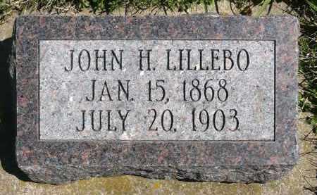 LILLEBO, JOHN H. - Minnehaha County, South Dakota   JOHN H. LILLEBO - South Dakota Gravestone Photos