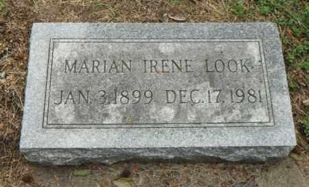 LOOK, MARIAN IRENE - Minnehaha County, South Dakota | MARIAN IRENE LOOK - South Dakota Gravestone Photos
