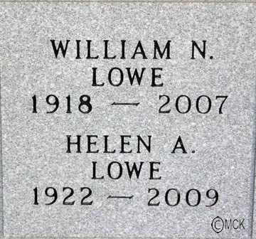AWKERMAN LOWE, HELEN A. - Minnehaha County, South Dakota | HELEN A. AWKERMAN LOWE - South Dakota Gravestone Photos