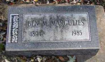 MARGULIES, BEN M. - Minnehaha County, South Dakota | BEN M. MARGULIES - South Dakota Gravestone Photos