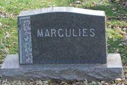 MARGULIES, FAMILY MARKER - Minnehaha County, South Dakota | FAMILY MARKER MARGULIES - South Dakota Gravestone Photos