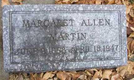 ALLEN MARTIN, MARGARET - Minnehaha County, South Dakota | MARGARET ALLEN MARTIN - South Dakota Gravestone Photos