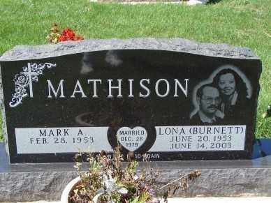 MATHISON, LONA - Minnehaha County, South Dakota | LONA MATHISON - South Dakota Gravestone Photos