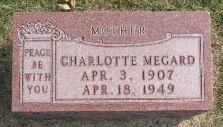 ADAMSON MEGARD, CHARLOTTE - Minnehaha County, South Dakota | CHARLOTTE ADAMSON MEGARD - South Dakota Gravestone Photos