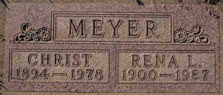 MEYER, RENA L - Minnehaha County, South Dakota | RENA L MEYER - South Dakota Gravestone Photos