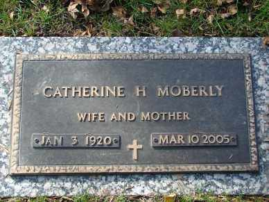 MOBERLY, CATHERINE H. - Minnehaha County, South Dakota | CATHERINE H. MOBERLY - South Dakota Gravestone Photos