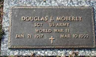 MOBERLY, DOUGLAS L. - Minnehaha County, South Dakota | DOUGLAS L. MOBERLY - South Dakota Gravestone Photos