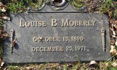 MOBERLY, LOUISE B. - Minnehaha County, South Dakota | LOUISE B. MOBERLY - South Dakota Gravestone Photos