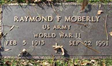 MOBERLY, RAYMOND F. - Minnehaha County, South Dakota | RAYMOND F. MOBERLY - South Dakota Gravestone Photos