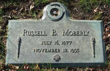MOBERLY, RUSSELL B. - Minnehaha County, South Dakota | RUSSELL B. MOBERLY - South Dakota Gravestone Photos