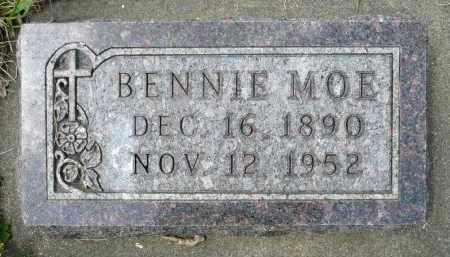 MOE, BENNIE - Minnehaha County, South Dakota | BENNIE MOE - South Dakota Gravestone Photos