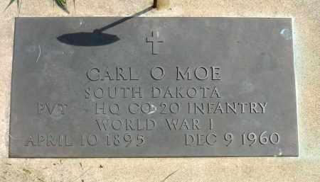 MOE, CARL O. (WWI) - Minnehaha County, South Dakota   CARL O. (WWI) MOE - South Dakota Gravestone Photos