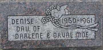 MOE, DENISE - Minnehaha County, South Dakota | DENISE MOE - South Dakota Gravestone Photos