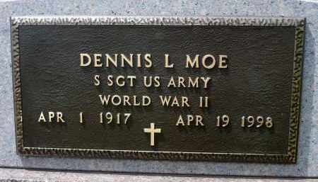MOE, DENNIS L. (WWII) - Minnehaha County, South Dakota | DENNIS L. (WWII) MOE - South Dakota Gravestone Photos