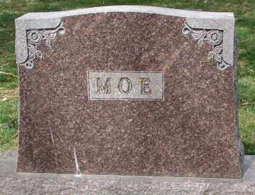 MOE, FAMILY  MARKER - Minnehaha County, South Dakota | FAMILY  MARKER MOE - South Dakota Gravestone Photos