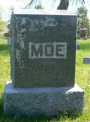 MOE, FAMILY MARKER - Minnehaha County, South Dakota | FAMILY MARKER MOE - South Dakota Gravestone Photos