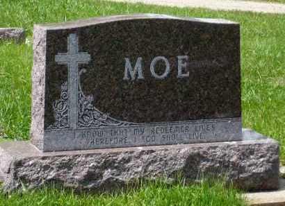 MOE, FAMILY MARKER - Minnehaha County, South Dakota   FAMILY MARKER MOE - South Dakota Gravestone Photos