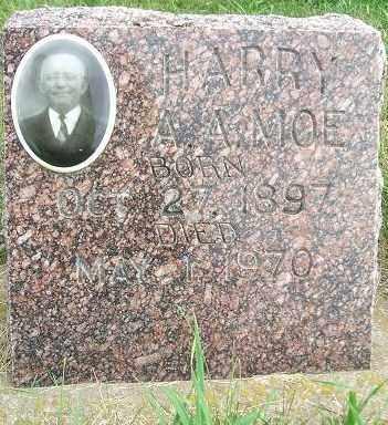 MOE, HARRY A. A. - Minnehaha County, South Dakota   HARRY A. A. MOE - South Dakota Gravestone Photos