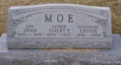 MOE, LOUISE - Minnehaha County, South Dakota | LOUISE MOE - South Dakota Gravestone Photos