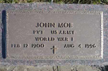 MOE, JOHN - Minnehaha County, South Dakota | JOHN MOE - South Dakota Gravestone Photos