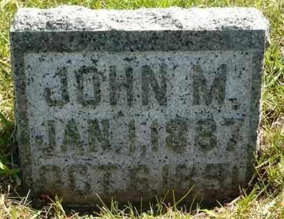 MOE, JOHN M. - Minnehaha County, South Dakota | JOHN M. MOE - South Dakota Gravestone Photos