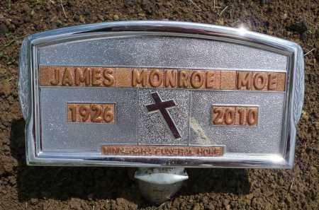 MOE, JAMES MONROE - Minnehaha County, South Dakota | JAMES MONROE MOE - South Dakota Gravestone Photos