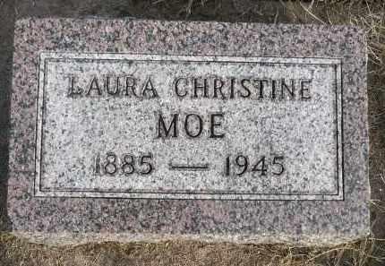 MOE, LAURA CHRISTINE - Minnehaha County, South Dakota | LAURA CHRISTINE MOE - South Dakota Gravestone Photos
