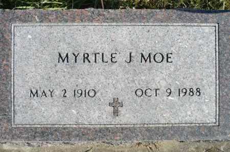 MOE, MYRTLE J. - Minnehaha County, South Dakota | MYRTLE J. MOE - South Dakota Gravestone Photos