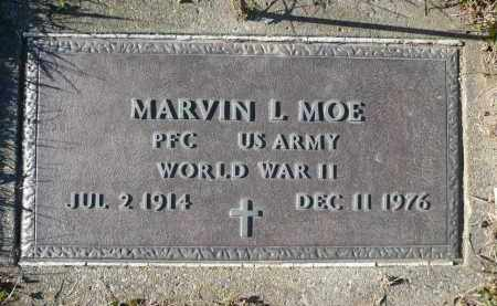 MOE, MARVIN L. - Minnehaha County, South Dakota | MARVIN L. MOE - South Dakota Gravestone Photos