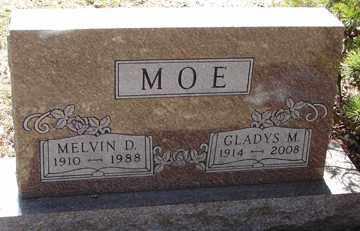 MOE, MELVIN D. - Minnehaha County, South Dakota | MELVIN D. MOE - South Dakota Gravestone Photos