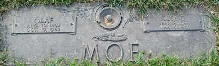 MOE, OLGA CATHERINE - Minnehaha County, South Dakota | OLGA CATHERINE MOE - South Dakota Gravestone Photos