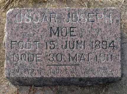 MOE, OSCAR JOSEPH - Minnehaha County, South Dakota | OSCAR JOSEPH MOE - South Dakota Gravestone Photos