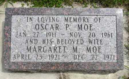 MOE, OSCAR P. - Minnehaha County, South Dakota | OSCAR P. MOE - South Dakota Gravestone Photos
