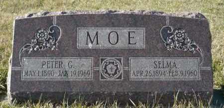 MOE, SELMA - Minnehaha County, South Dakota   SELMA MOE - South Dakota Gravestone Photos