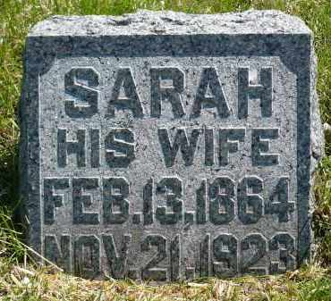 MOE, SARAH - Minnehaha County, South Dakota | SARAH MOE - South Dakota Gravestone Photos