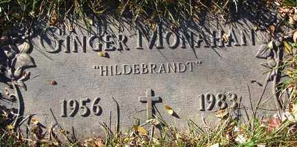MONAHAN, GINGER - Minnehaha County, South Dakota | GINGER MONAHAN - South Dakota Gravestone Photos