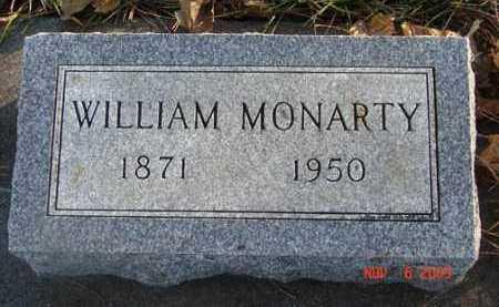 MONARTY, WILLIAM - Minnehaha County, South Dakota | WILLIAM MONARTY - South Dakota Gravestone Photos