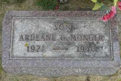 MONGER, ARDEANE - Minnehaha County, South Dakota | ARDEANE MONGER - South Dakota Gravestone Photos