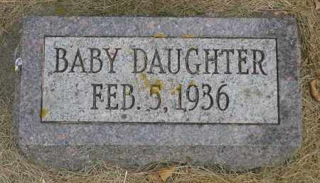 MONGER, BABY DAUGHTER - Minnehaha County, South Dakota | BABY DAUGHTER MONGER - South Dakota Gravestone Photos