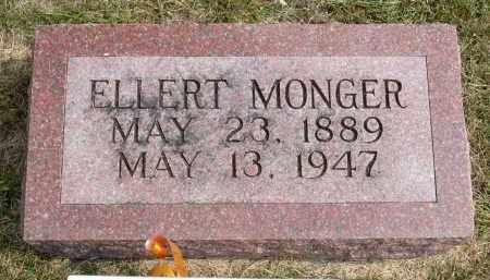 MONGER, ELLERT - Minnehaha County, South Dakota   ELLERT MONGER - South Dakota Gravestone Photos