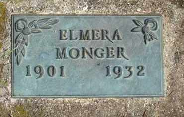 MONGER, ELMERA - Minnehaha County, South Dakota | ELMERA MONGER - South Dakota Gravestone Photos