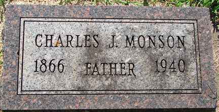 MONSON, CHARLES J. - Minnehaha County, South Dakota | CHARLES J. MONSON - South Dakota Gravestone Photos