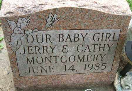 MONTGOMERY, BABY GIRL - Minnehaha County, South Dakota | BABY GIRL MONTGOMERY - South Dakota Gravestone Photos