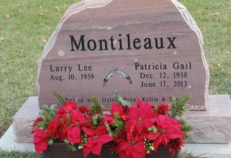 MONTILEAUX, PATRICIA GAIL - Minnehaha County, South Dakota | PATRICIA GAIL MONTILEAUX - South Dakota Gravestone Photos