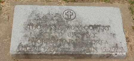 MONTGOMERY, THOMAS S. - Minnehaha County, South Dakota | THOMAS S. MONTGOMERY - South Dakota Gravestone Photos