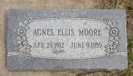 MOORE, AGNES - Minnehaha County, South Dakota | AGNES MOORE - South Dakota Gravestone Photos